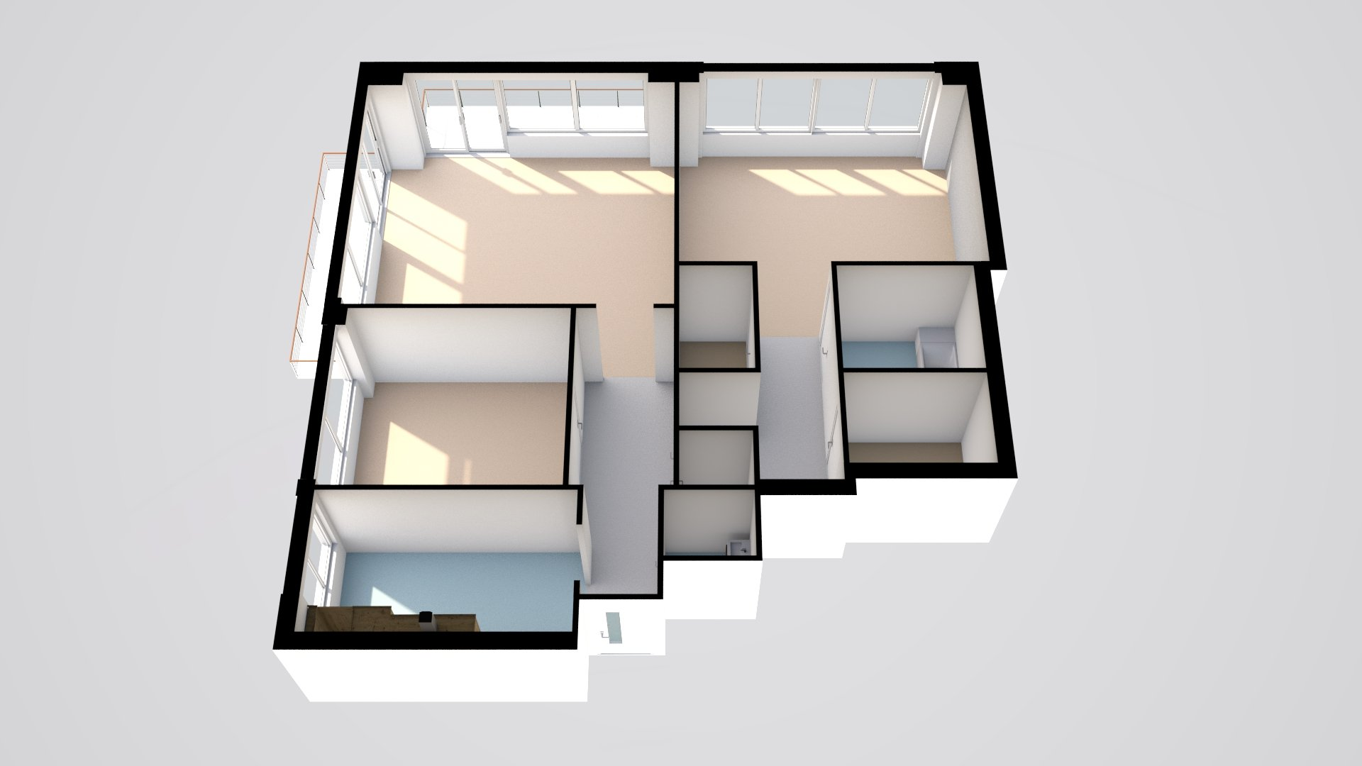 Floorplanner-NYC-apartment-3d-floorplan-tilted-with-sun