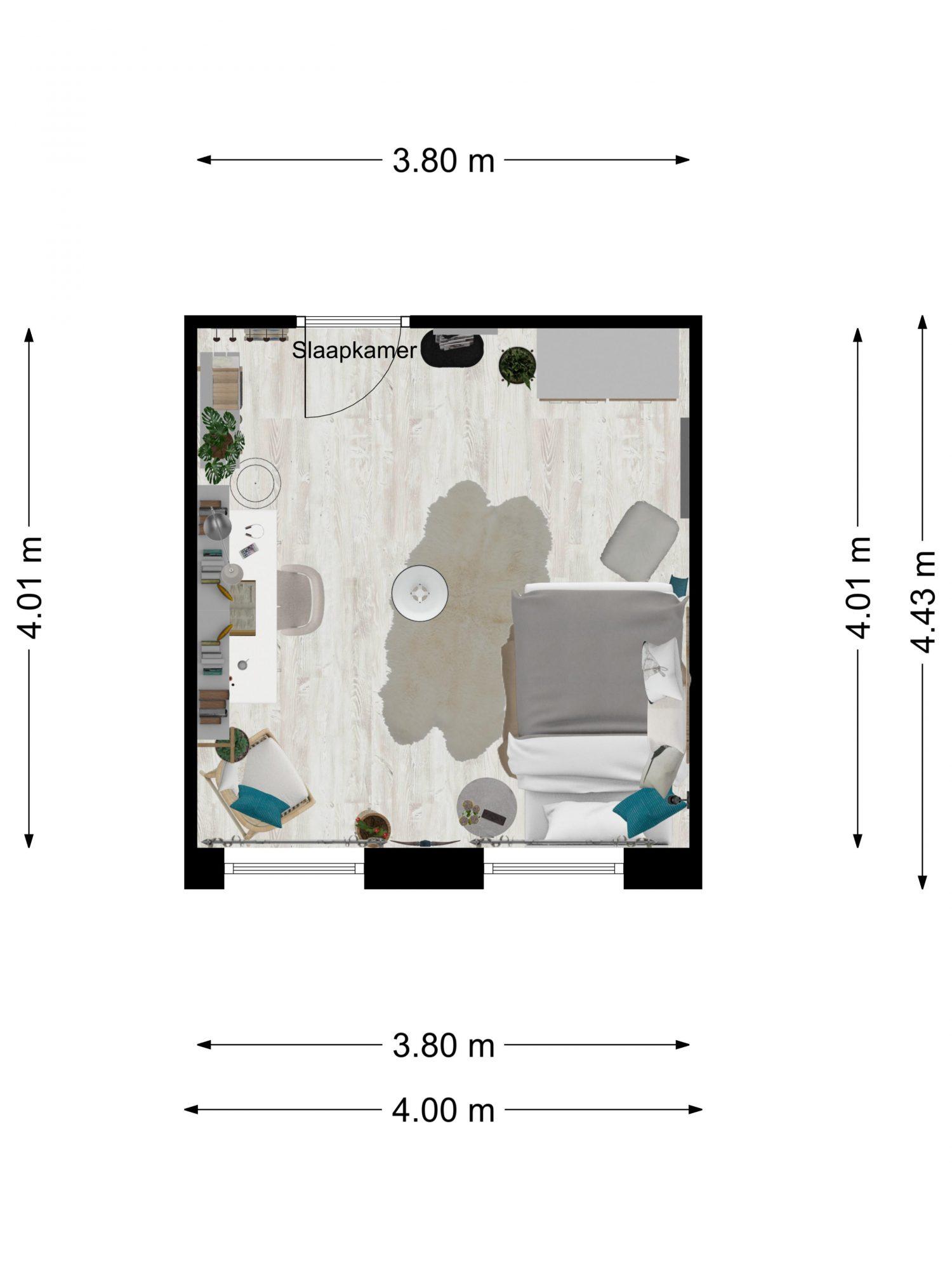 teenage-girl-2D-floor-plan-Floorplanner