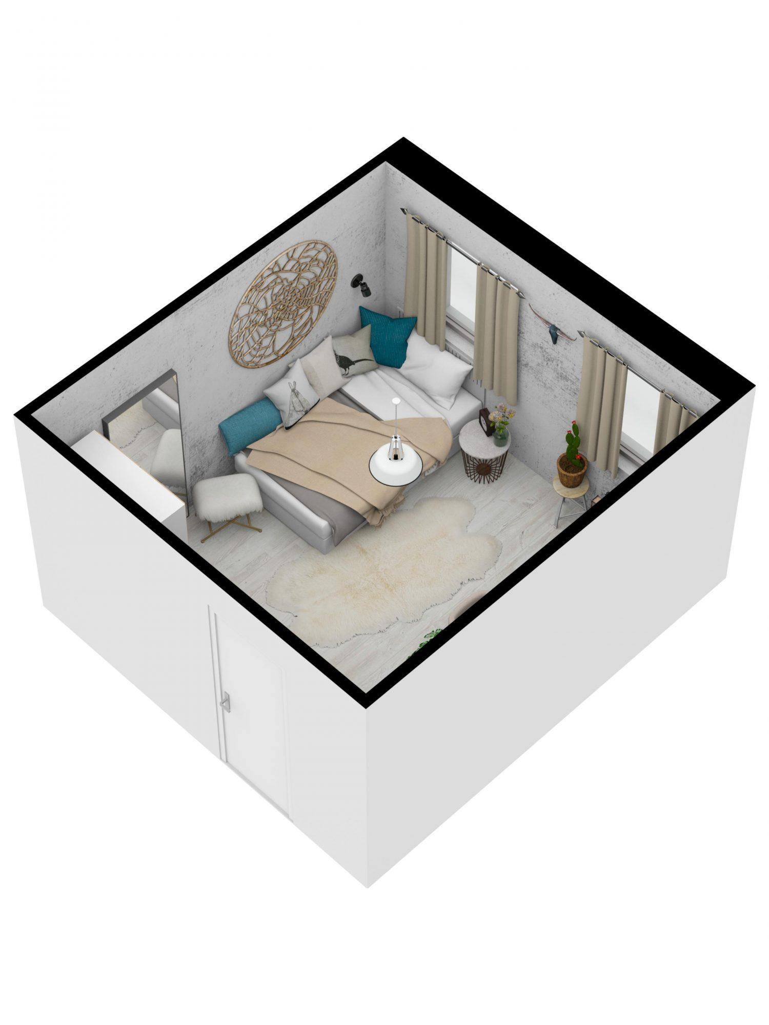 teenage-girl-3D-SW-floor-plan-Floorplanner